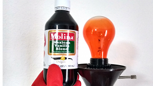 VANILLA ON A LIGHT BULB TO MAKE YOUR HOME SMELL AMAZING